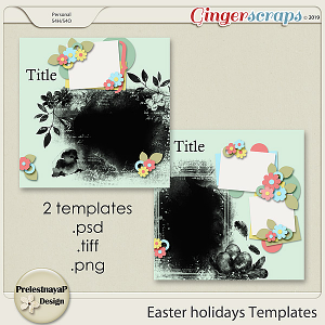 Easter holidays Templates