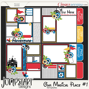 Our Magical Place #1 {Templates}