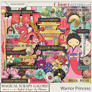 Warrior Princess (page kit)