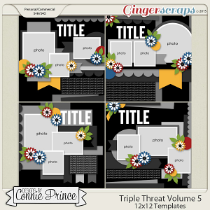 Triple Threat Volume 5 - 12x12 Temps (CU Ok)