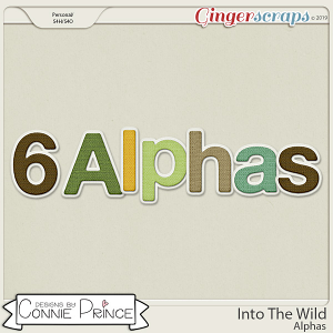 Into The Wild - Alpha Pack  by Connie Prince