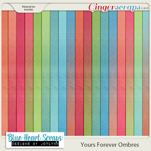 Yours Forever Ombre Papers