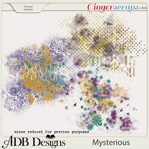 Mysterious Splatters by ADB Designs