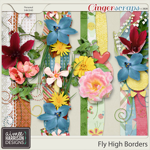 Fly High Borders by Aimee Harrison
