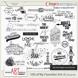 100 of My Favorites Vol. 6