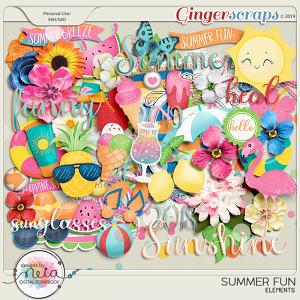 Summer Fun - Elements - by Neia Scraps