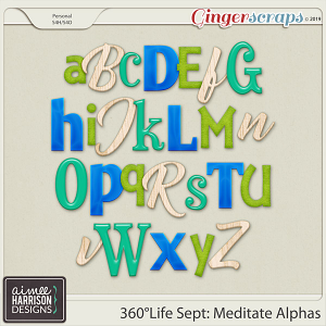 360°Life Sept: Meditate Alpha Sets by Aimee Harrison