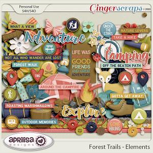 Forest Trails - Elements by Aprilisa Designs