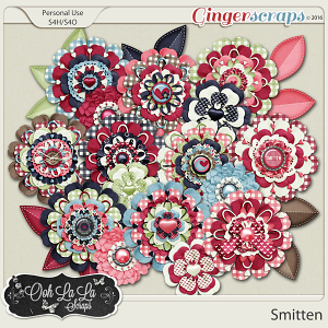 Smitten Layered Flowers