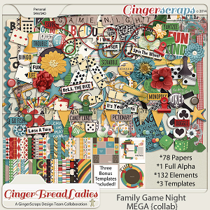 GingerBread Ladies MEGA Collab: Family Game Night