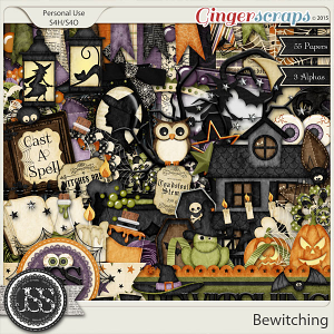 Bewitching Digital Scrapbooking Kit