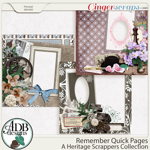 Remember Quick Pages by ADB Designs