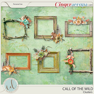 Call Of The Wild Clusters by Ilonka's Designs