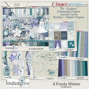 A Frosty Winter Collection by Lindsay Jane