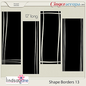 Shape Borders 13 by Lindsay Jane