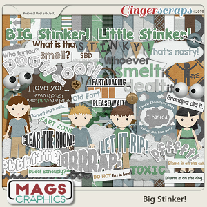 Big Stinker KIT by MagsGraphics