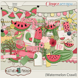 Watermelon Crawl - Embellishments