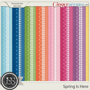 Spring Is Here Pattern Papers