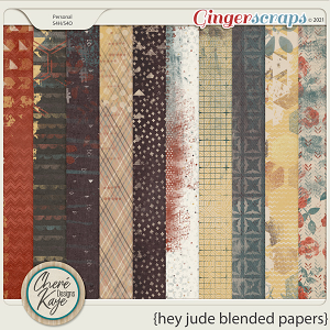 Hey Jude Blended Papers by Chere Kaye Designs