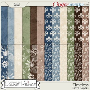 Timeless - Extra Papers by Connie Prince