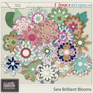 Sew Brilliant Blooms by Aimee Harrison