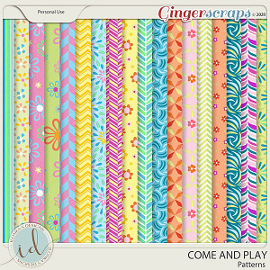 Come And Play Patterns by Ilonka's Designs