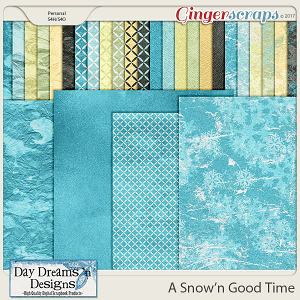 A Snow'n Good Time {Extra Papers} by Day Dreams 'n Designs