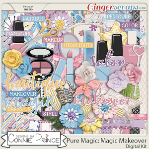 PureMagic: Magic Makeover - Kit by Connie Prince
