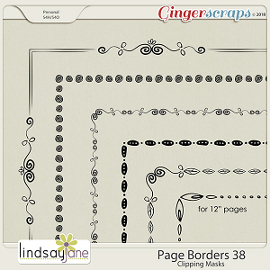 Page Borders 38 by Lindsay Jane