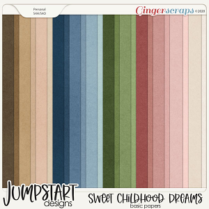Sweet Childhood Dreams {Basic Papers}