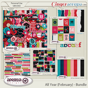 All Year {February} - Bundle