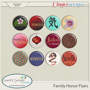 Family Honor Flairs