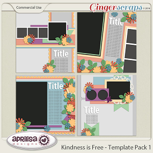 Kindness Is Free - Template Pack 1