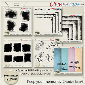 Keep your memories Creative Box #8