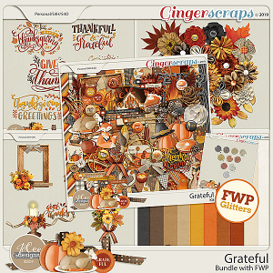 Grateful Bundle with FWP Glitters by JoCee Designs