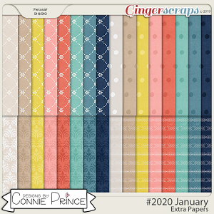 #2020 January - Extra Papers by Connie Prince