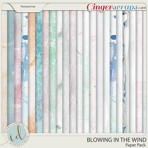 Blowing In The Wind Paper Pack by Ilonka's Designs