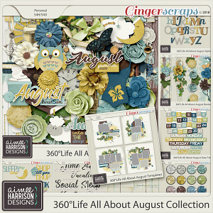 360°Life All About August Collection by Aimee Harrison