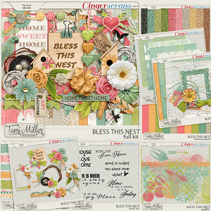 Bless This Nest Bundle by Tami Miller Designs