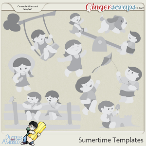 Doodles By Americo: Summertime Templates