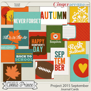 Project 2015 September - Journal Cards