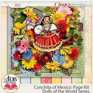 Conchita Page Kit {DOTW Mexico} by ADB Designs
