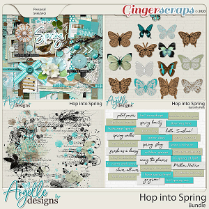 Hop Into Spring Bundle by Angelle Designs