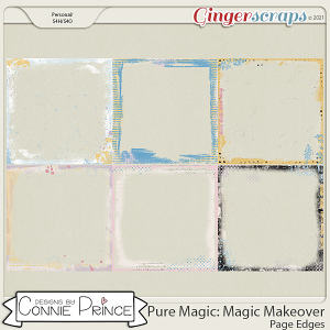 PureMagic: Magic Makeover - Page Edges  by Connie Prince