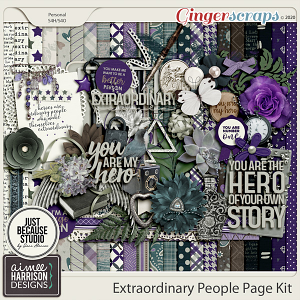 Extraordinary People Page Kit by Aimee Harrison and JB Studio