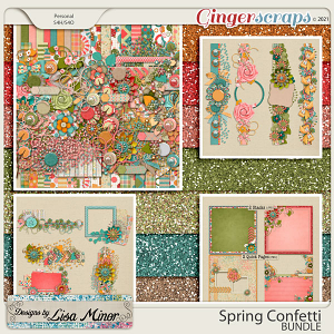 Spring Confetti BUNDLE from Designs by Lisa Minor
