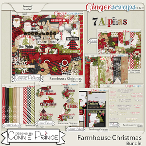 Farmhouse Christmas - Bundle by Connie Prince