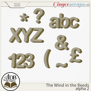 The Wind in the Reeds Alpha Set 02 by ADB Designs