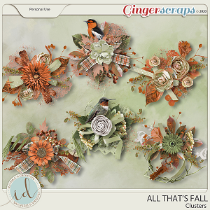 All That's Falll Clusters by Ilonka's Designs