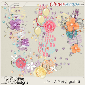 Life Is A Party: Graffiti sby LDragDesigns